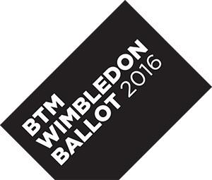 Wimbledon ballot logo