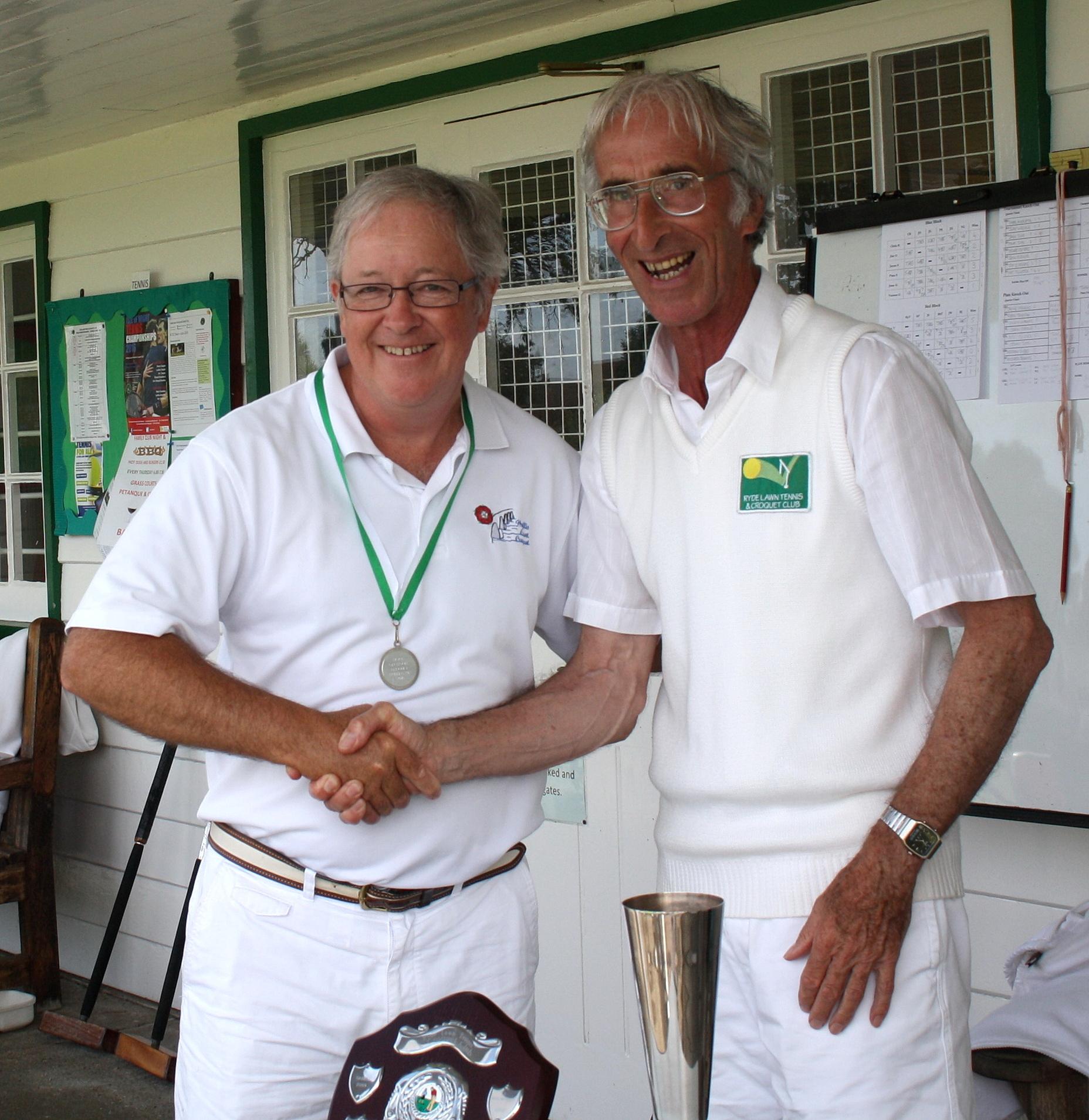 Open Golf Runner up Chris Roberts